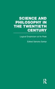 Logical Empiricism at Its Peak: Schlick, Carnap, and Neurath