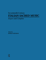 Vesper and Compline Music for Multiple Choirs