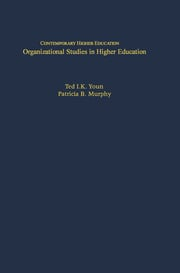 Organizational Studies in Higher Education