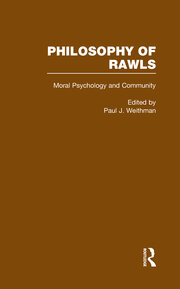 Moral Psychology and Community: Philosophy of Rawls