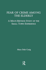 Fear of Crime Among the Elderly: A Multi-Method Study of the Small Town Experience
