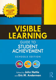 Visible Learning Guide to Student Achievement book cover