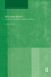 Realising Rights: How Regional Organisations Socialise Human Rights