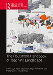 The Routledge Handbook of Teaching Landscape: 1st Edition (Hardback) book cover
