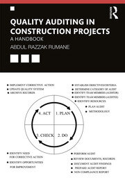Quality Auditing in Construction Projects: A Handbook