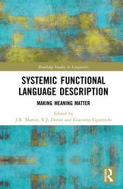 Systemic Functional Language Description: Making Meaning Matter