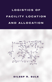 Logistics of Facility Location and Allocation