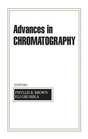 Advances in Chromatography: Volume 42