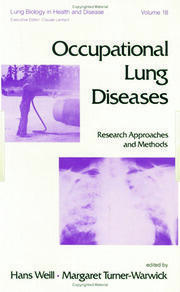 Occupational Lung Diseases: Research Approaches and Methods