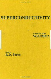 Superconductivity: In Two Volumes: Volume 2