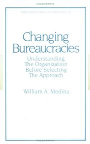 Changing Bureaucracies
