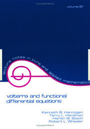 Volterra and Functional Differential Equations