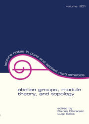 Abelian Groups, Module Theory, and Topology