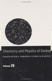 Chemistry & Physics of Carbon: Volume 26
