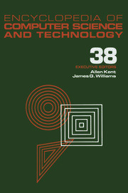 Encyclopedia of Computer Science and Technology: Volume 38 - Supplement 23: Algorithms for Designing Multimedia Storage Servers to Models and Architectures