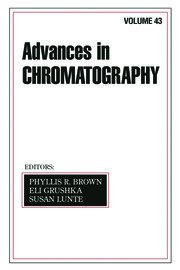 Advances In Chromatography: Volume 43