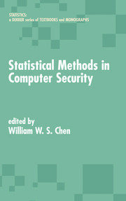 Statistical Methods in Computer Security