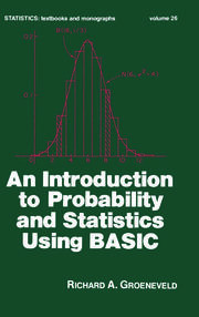 An Introduction to Probability and Statistics Using Basic