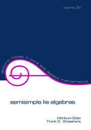 Semisimple Lie Algebras