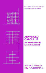 Advanced Calculus: An Introduction to Modern Analysis