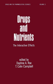 Drugs and Nutrients: The Interactive Effects