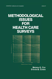 Methodological Issues for Health Care Surveys
