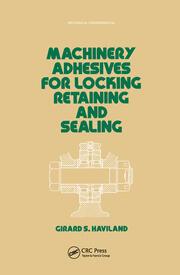 Machinery Adhesives for Locking, Retaining, and Sealing