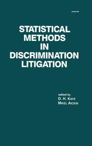 Statistical Methods in Discrimination Litigation