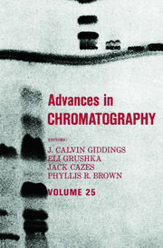 Advances in Chromatography: Volume 25