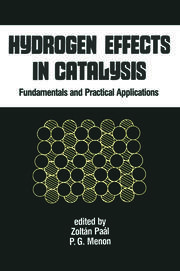 Hydrogen Effects in Catalysis: Fundamentals and Practical Applications