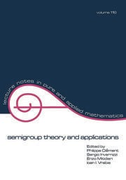 semigroup theory and applications