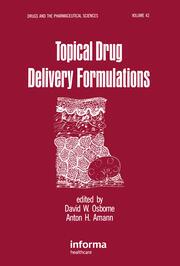 Topical Drug Delivery Formulations