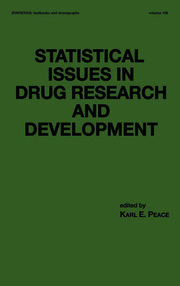 Statistical Issues in Drug Research and Development