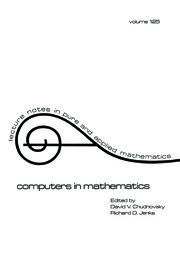 Computers in Mathematics