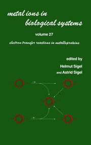 Metal Ions in Biological Systems: Volume 27: Electron Transfer Reactions in Metalloproteins