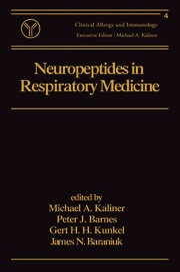 Neuropeptides in Respiratory Medicine