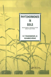 Phytohormones in Soils Microbial Production & Function