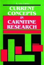 Current Concepts in Carnitine Research: A Medical College of Georgia Symposium