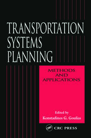Transportation Systems Planning: Methods and Applications