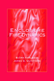 Enclosure Fire Dynamics - 1st Edition book cover