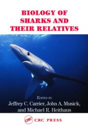 Biology Sharks & Their Relatives - 1st Edition book cover