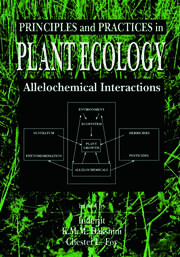 Principles and Practices in Plant Ecology: Allelochemical Interactions