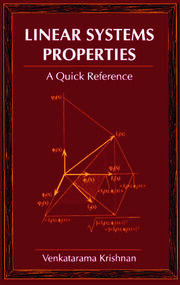 Linear Systems Properties: A Quick Reference