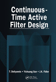 Continuous-Time Active Filter Design