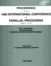 Proceedings of the 1995 International Conference on Parallel Processing: August 14 - 18, 1995, Volume I