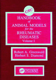 CRC Handbook of Animal Models for the Rheumatic Diseases, Volume I