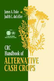 CRC Handbook of Alternative Cash Crops