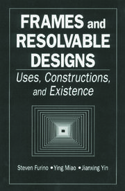 Frames and Resolvable Designs: Uses, Constructions and Existence