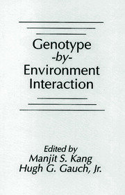 Genotype-by-Environment Interaction - 1st Edition book cover
