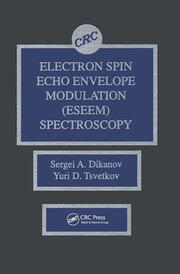 Electron Spin Echo Envelope Modulation (ESEEM) Spectroscopy